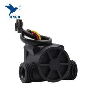 Црна ПП материјал сензор за проток на вода цевки