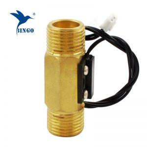 DN15 машки магнетски прекинувач за проток на вода од месинг
