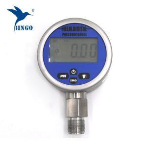 Интелигентен вакуум дигитален мерач на притисок, LCD екран, LED дисплеј, 100MPa мерач
