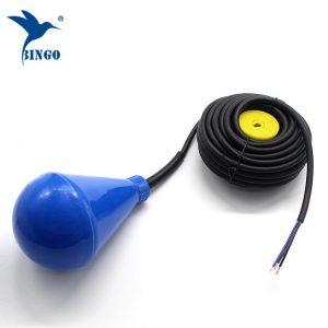 Плукнат прекинувач со плунка во форма на резервоар за вода со ПВЦ кабел