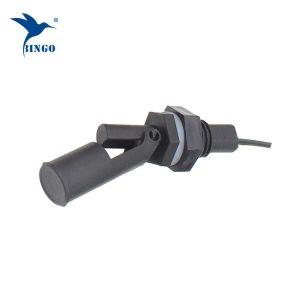 пластични хоризонтално странично монтирани 2 жици магнетна течност ниво пливачки прекинувач за високо / ниско ниво со прекинувачки сигнал